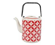 Tee-Kanne Rubis, H 17 cm