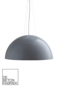 mooi een betonnen lamp