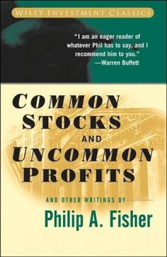 Download ebooks common stocks and uncommon profits and other common stocks and uncommon profits and other writings wiley investment classics series fandeluxe Choice Image