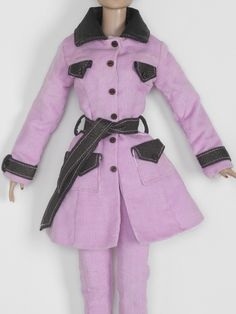 Lavender Trench Coat | Tonner Doll Company
