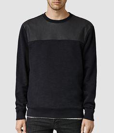 Mikste Crew Sweater, by AllSaints #ALLSAINTS