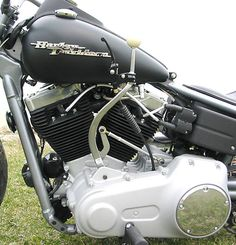 2009 Harley Street Bob Hot Rod Chopper Muscle Bobber by Dave