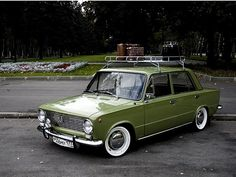 Lada. Model 1500 (maybe?). It's worth to remember that it's based on the Fiat 124.