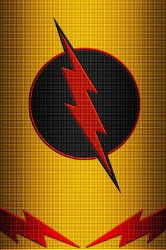 Reverse Flash Costume background by on DeviantArt Flash Comics, Dc Comics, Cool Wallpapers Cartoon, Flash Wallpaper, Wallpaper Ideas, Iphone Wallpaper, Superhero Pop Art, Neon Symbol, Eobard Thawne