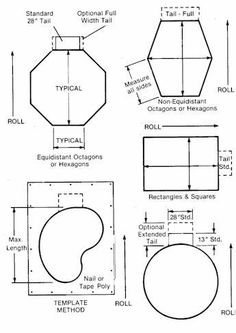 Great Northern Hot Tubs Custom Roll-Up Covers diagram - templates of roll-up covers for hot tub (or sandbox?) with roll direction - no foam needed, just needs to be weighty enough to keep critters out. Hot Tub Cover, Western Red Cedar, Hot Tubs, Sandbox, Save Energy, Outdoor Spaces, Image Search, Home Improvement, Landscaping
