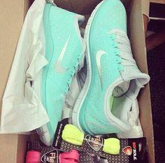 Love this color Tiffany Blue Nikes, , 63% off tiffany blue nikes     #tiffany #blue #for #womens
