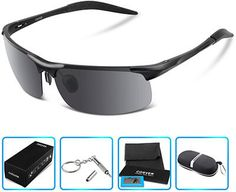 af6a80c436 COSVER Style Polarized Sports Sunglasses for Men Sports Sunglasses
