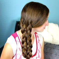 Lace braid - Cute Girls Hairstyles