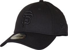 San Francisco Giants New Era 3930 Black On Black Stretch Fit Baseball –  lovemycap 14505dc1504