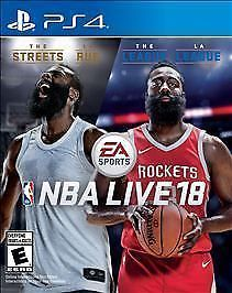 PS4 NBA Live 18 Basketball Streets League NEW Sealed - Play Station 4 #PS4