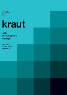 kraut at rock hotel, 1984 - swissted
