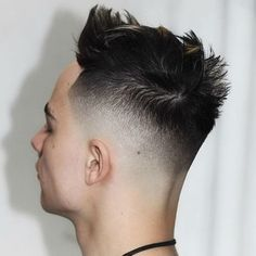 Fresh Haircuts - High Skin Fade with Quiff Mens Modern Hairstyles, Cool Hairstyles For Men, Boy Hairstyles, Haircuts For Men, Fresh Haircuts, High Skin Fade, Textured Haircut, Fade Haircut, Style