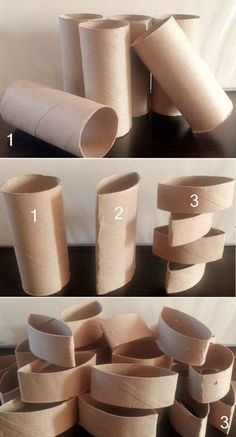 Paper Towel Roll Crafts, Toilet Paper Roll Art, Toilet Paper Roll Crafts, Cardboard Crafts, Diy Paper, Paper Crafting, Free Paper, Cardboard Boxes, Cardboard Furniture