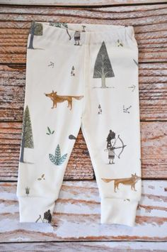 baby leggings Encontrado en etsy.com
