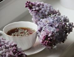 Lilacs from polimer clay.  Handmade