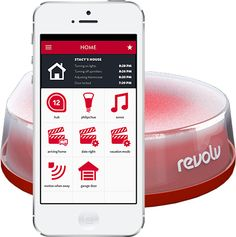 Revolv Smart Home Solution Wi-Fi Hub - One hub to control all of your devices. In the coming months it will be compatible with 95 percent of commercially available devices