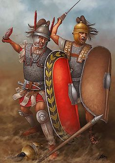 """The kit and weapons of Roman Republic era praetorian soldiers"""