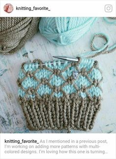 Knitting patterns cowl sock yarn ideas for 2019 Chunky Knitting Patterns, Knitting Stiches, Loom Knitting, Knitting Designs, Knitting Projects, Crochet Projects, Hand Knitting, Bag Crochet, Crochet Mittens
