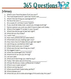 365 questions - Google Search