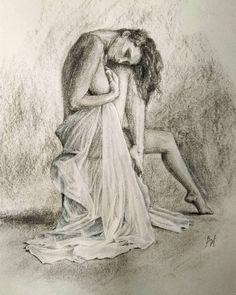 Weronika Juravok Бумага, 21х30, уголь, графитный карандаш, тушь.  #вероникажуравок #weronikajuravok #художник #графика #graphic #иллюстратор #иллюстрация #illustrator #illustration  #искусство #картина #рисунок #charcoaldrawings #обнаженная #девушка #ню #красота #art #artwork #artist #draw #create #creative #painting #painter #picture #nude #beatiful #girl #pensil