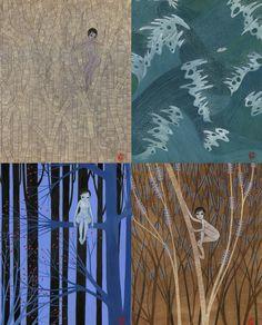 Charlotte Gastaut Illustrations, Illustration Art, Charlotte, Arts And Crafts, Painting, Decor, Style, Swag, Decoration