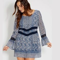 ISO!  LOOKING FOR THIS DRESS  I'm desperately looking for this dress in plus size 1X-3X. I went to purchase it and it was sold out  willing to pay up to retail value for it. New or used conditions welcome. Please help me find it! ❤️ Maurices Dresses Mini