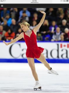 Ashley Wagner free skate Skate Canada 2014 (Moulin Rouge (soundtrack)