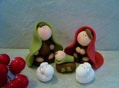 Nativity Set - 5 piece - Holiday Figurines