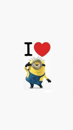 i love minions wallpapers for iPhone 6s