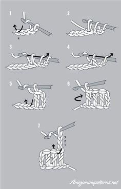 double crochet instructions # how to double crochet for beginners Beginner Crochet Tutorial, Crochet Stitches For Beginners, Beginner Crochet Projects, Crochet Instructions, Crochet Diagram, Basic Crochet Stitches, Crochet Basics, Learn To Crochet, Diy Crochet