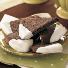 Best Cookies Recipes: Dark Chocolate-Espresso Shortbread Cookies Recipes