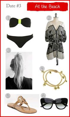 At the beach, outfit inspiration for a date
