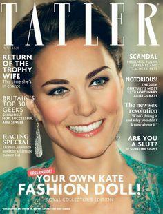 Kate Middleton covers Tatler June 2014