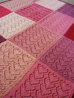 Ravelry: flancers' Sweet Pink Hearts