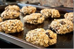 mama pea's protien trail mix cookies