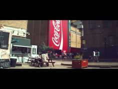 Celebrate London 2012 with Coca-Cola's biggest vending machine    Agency: Wieden and Kennedy London