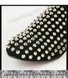 Christian Louboutin Rollerball #Spikes Suede #Sneakers Black for Men-Ladies,Christian  Louboutin