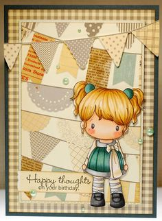 A thousand sheets of paper:  CC Designs Party Time Lucy