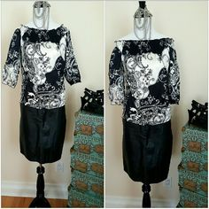 WHITE HOUSE BLACK MARKET 100%silk top S WHITE HOUSE BLACK MARKET 100%silk top S,  pull it down around your shoulders or wear it up for a classic look  Elastic around waist arms and chest  PERFECT for spring /summer White House Black Market Tops Blouses