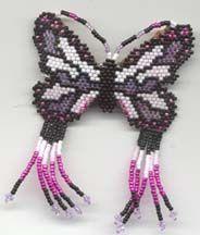 Butterfly Barrette Pattern by Rita Sova