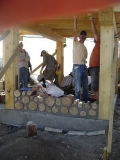 Cordwood Masonry, the Cheap Way to a Mortgage-Free Homestead