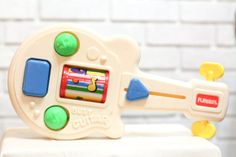 Vintage Baby Toy, Playskool Busy Guitar, Toy Guitar, Activity Toy, Learning, Developmental
