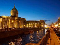 Вид на Казанский собор с канала Грибоедова #St_Peterburg  #Russia