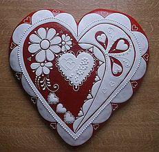 Dekorácie - Valentínske srdce - 4980351_