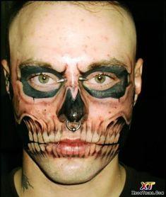 Rick Genest aka Zombie Boy II