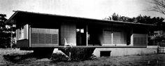 Saito house 1952|斎藤助教授の家 清家清