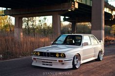 In our eyes, George's car fits the M3 bill perfectly. As one of only a few who have taken an E30 M3 down the path he has, his car perfectly represents the ways in which wheel and tire fitment can accentuate an otherwise flawless car.