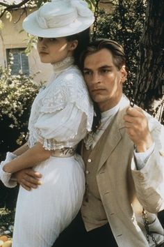 A Room with a View - one of my favorite movies, starring beautiful Helena Bonham-Carter and Julian Sands