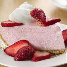 This easy-peasy yogurt dessert has been repinned so many times! All you need is five ingredients and a store-bought graham cracker crust, and you're about two hours away from a creamy, dreamy strawberry pie—that you didn't even have to turn the oven on for.