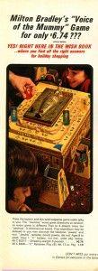"Milton Bradley ""Voice of the Mummy"" game"